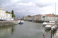 La commune de Marans, en Charente-Maritime.