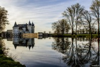 Le château de Sully-sur-Loire, dans le Loiret.