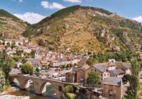 Village de Sainte-Enimie en Lozère Une