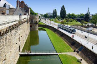 Ville de Nantes-centre de Nantes-château des Ducs de Bretagne