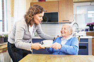 aide à domicile-maintien à domicile-personne âgée