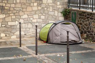 Sans domicile fixe - Paris