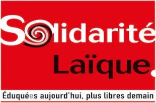 Solidarité Laïque logo-UNE