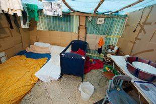 bidonville campement roms-UNE