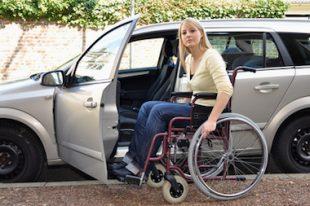 Handicapé stationnement voiture-UNE