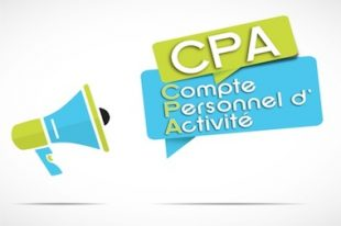 CPA-compte personnel d'activité-UNE