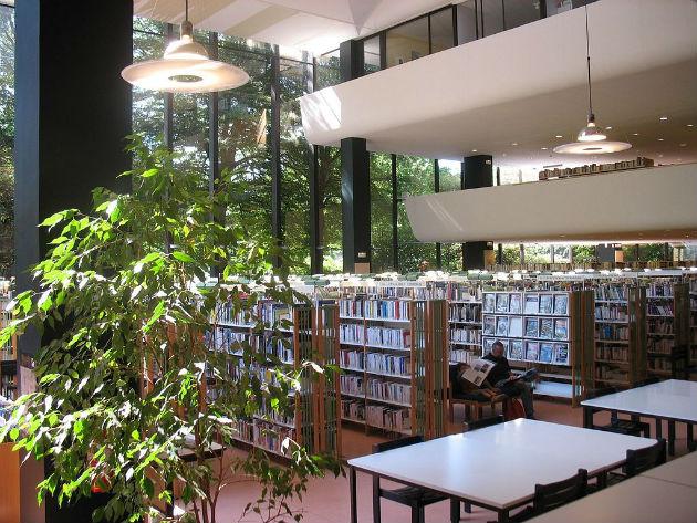 Bibliothèque municipale Toussaint d'Angers ©Ascona49 CC BY 3.0