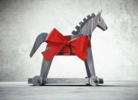 Trojanisches Pferd als Geschenk 1