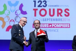 pompiers congres hollande 2016