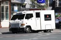Transport de fonds Loomis