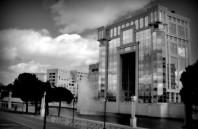 Hôtel de région, à Montpellier.