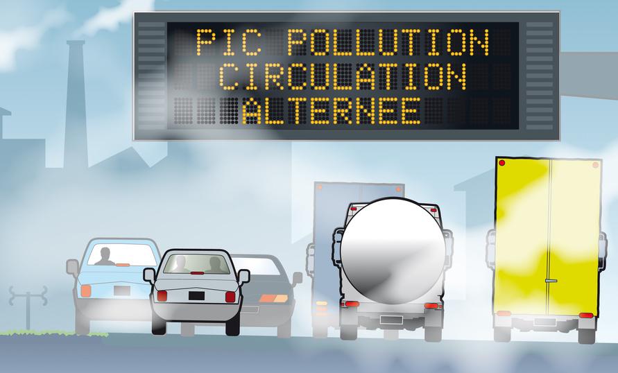 Pollution automobile : trois villes sévissent, d'autres régressent