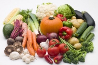 Selection Of Fresh Vegetables