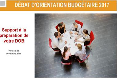 Débat d'orientation budgétaire : la Caisse d'épargne publie son guide