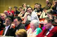 Les premières conférences régionales, comme ici à Angers, ont au moins eu le mérite de faire se rencontrer tous les acteurs locaux de l'ESS.
