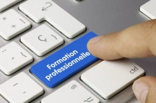 Formation professionnelle. Keyboard