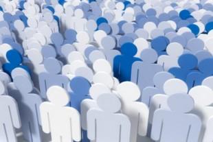 3d Menschenmenge Versammlung