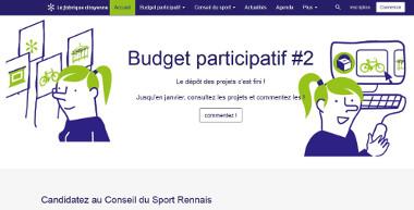La ville de Rennes a lancé le site fabriquecitoyenne.rennes.fr qui permet aux habitants de participer librement et facilement aux débats et discussions (questionnaires, sondages, témoignages).