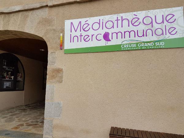 Bibliothèque intercommunale de la communauté de communes de Felletin-Aubusson  (Creuse-Grand Sud), ©hg CC BY 2.0