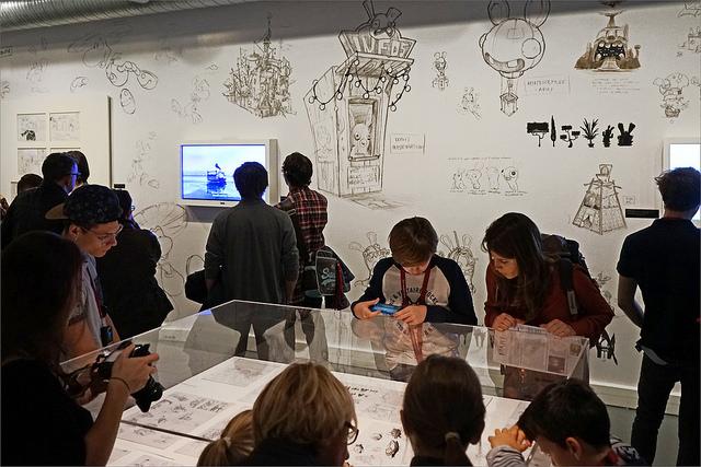 L'art dans le jeu vidéo, Musée d'art ludique, Paris, ©Jean-Pierre Dalbera CC BY 2.0