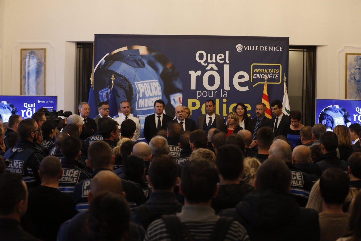 La police municipale de Nice à l'heure de la réforme