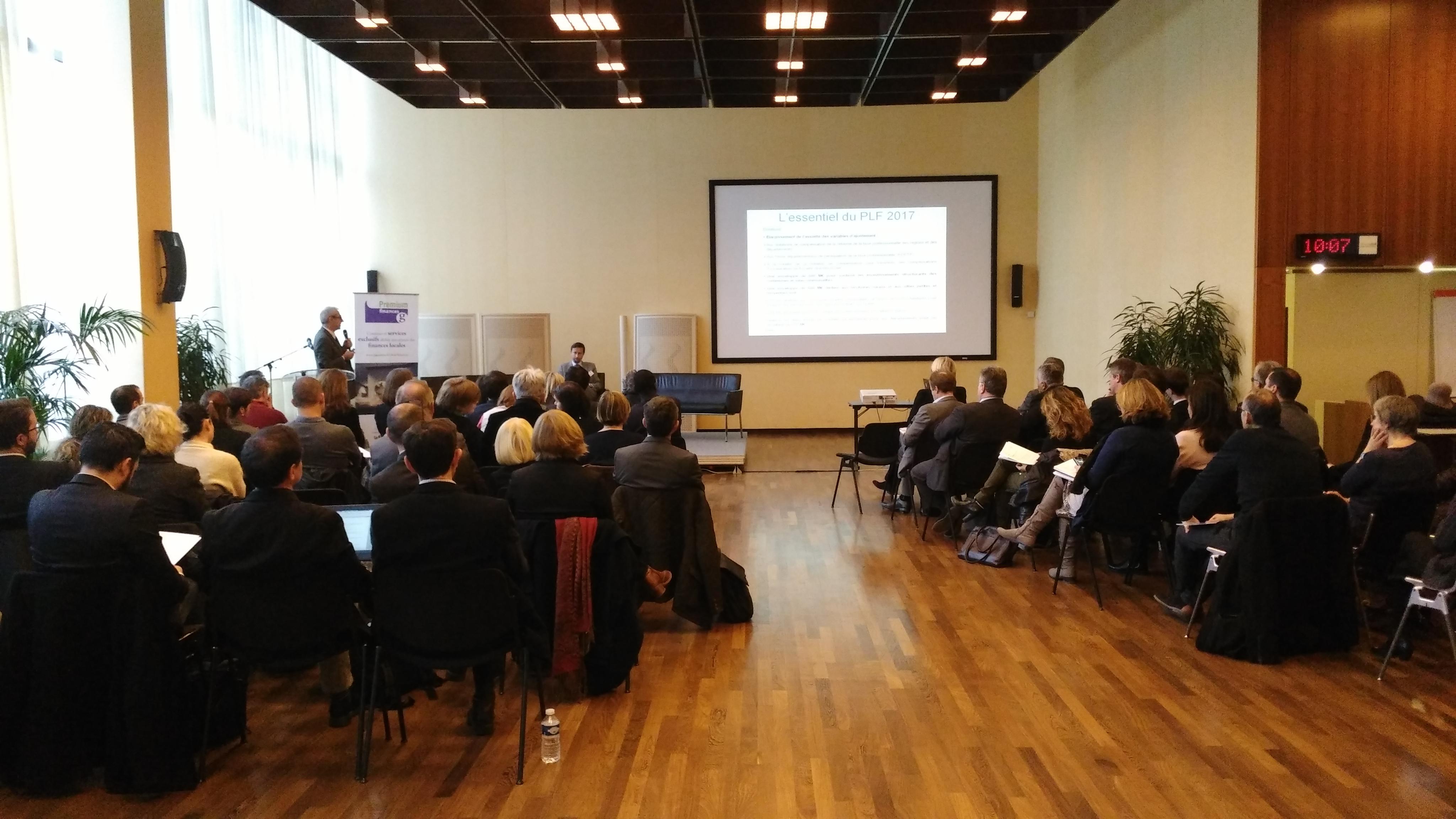 PLF 2017 : la péréquation en débat à Lyon