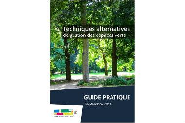 Techniques alternatives de gestion des espaces verts (guide)