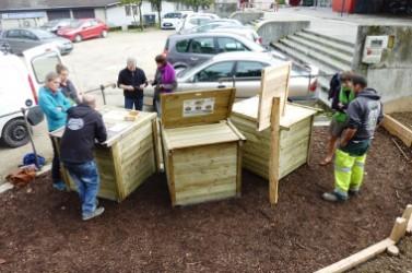 Site compostage Arcades