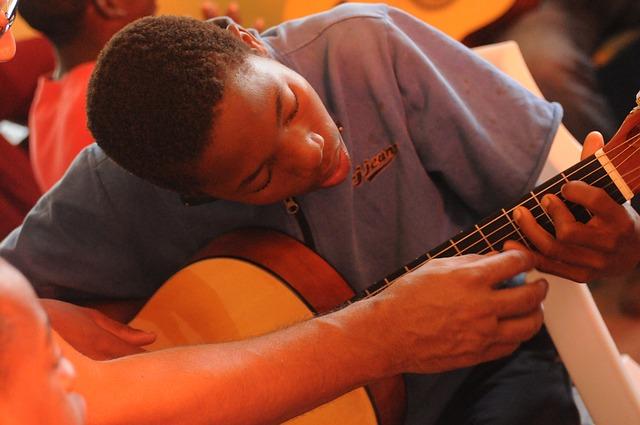 Leçon de guitare, CC0