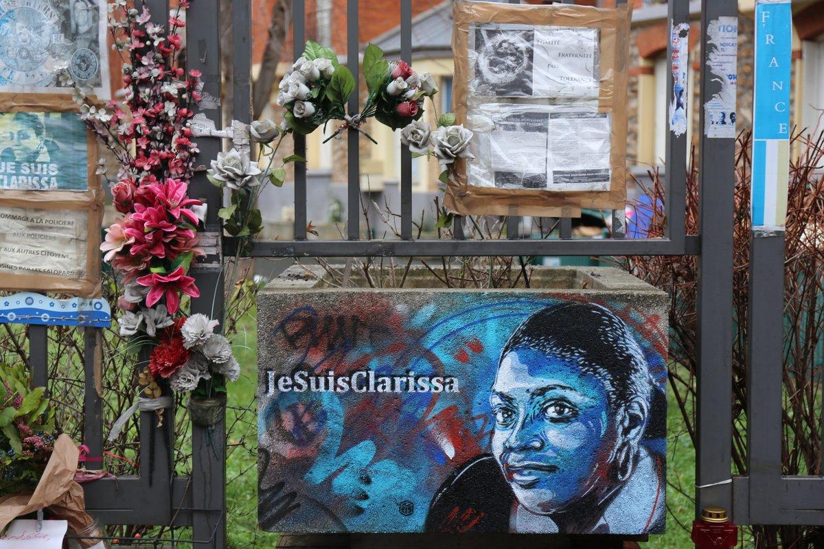 L'hommage de Montrouge à Clarissa Jean-Philippe