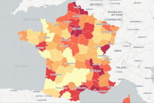 Délinquance : le classement des départements
