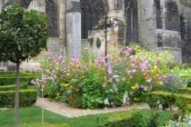 fleurissement estival jardin du cloitre