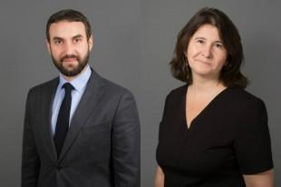 Raphaël Léonetti et Michèle Raunet