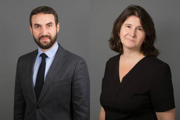 Raphaël Léonetti et Michèle Rauneti