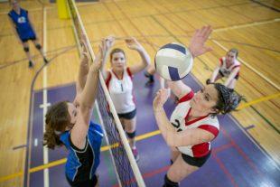 le Volley vise le haut du filet