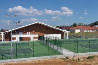 Saint-Pierre-du-Mont : une double membrane pour les tennis couverts