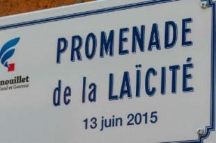 Médiathèque Wolinski, promenade de la laïcité, Fenouillet (Haute-Garonne)