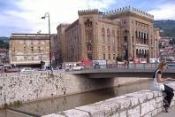 H™tel de ville de Sarajevo (Bosnie-HerzŽgovine)