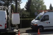 Il a fallu plusieurs allers-retours entre l'usine, la sté Delaire et la commune pour installer le li-fi pour installer le li-fi