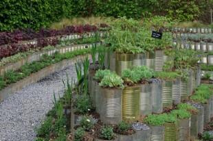 Festival international des jardins du 25 avril 2014 au 02 novembre 2014. Jardin 7 : Le Jardin mis en Boîte. France.