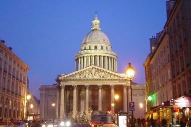 Le Panthéon, à Paris,