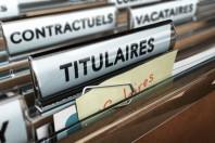 Dossier fonctionnaires et agents publics de l'administration. Salaire des titulaires, contractuels et vacataires