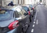 A Tours, la réforme du stationnement sur une voie de garage