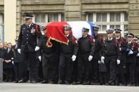Hommage à Xavier Jugelé à la préfecture de police de Paris, mardi 25 avril 2017.