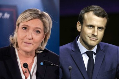 LePen-Macron-montage