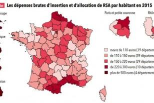 Dépenses sociales : les départements ont déboursé 33 milliards d'euros en 2015