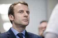Emmanuel Macron visite l APF entreprise 93