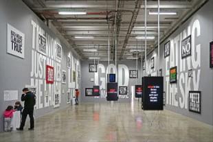380 X 253 Salon poesie sonore et visuelle expo I love john gardiano palais tokyo 2015 cr JP Dalbera CC BY 2