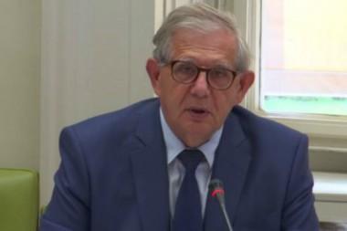 Jacques Mézard au Sénat, mardi 25 juillet 2017