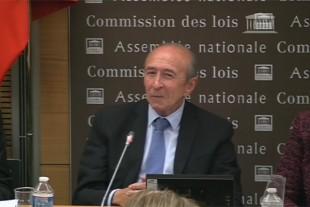 Photo de Gérard Collomb, Ministre de l'Intérieur
